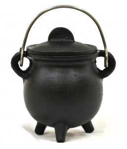 Burner: Cauldron Cast Iron Round