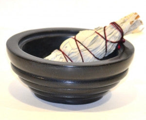 Burner: Soapstone Bowl Black