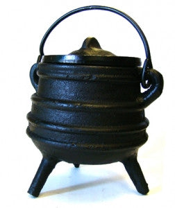 Burner: Cauldron Cast Iron Smudge Pot