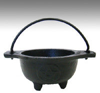 Burner: Cauldron, Cast Iron 2.5 in.