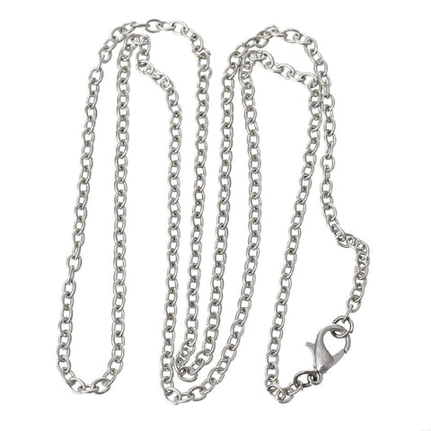 Chain: Silver Plated 18in.