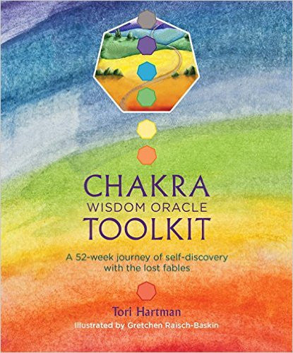 Book: Chakra Wisdom Oracle Toolkit (Stone).