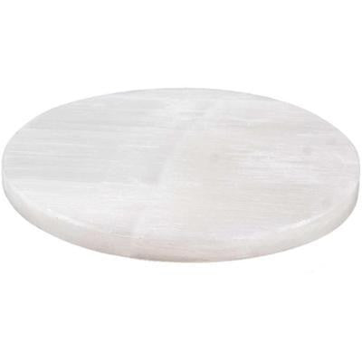 Stone: Charging Disc Selenite Plate (Large)