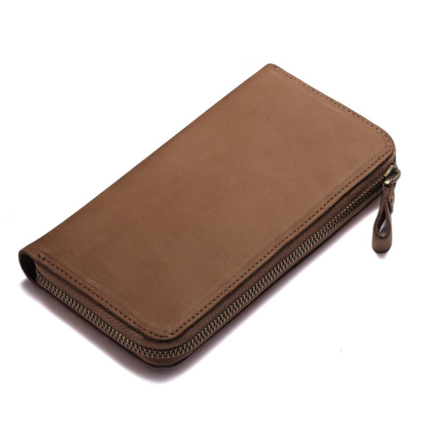 Check Book Leather Clutch Bag Sheer Treasures Company