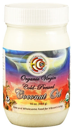 Coconut Oil - Organic Virgin Cold-Pressed - 16 oz.