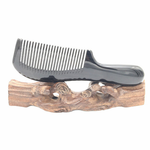 Comb: Natural Buffalo Horn Comb