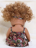 Doll: Sweet Cinnamon Black Baby Girl. Yes, Red Hair. (Free Shipping)