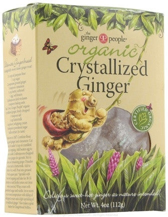 Ginger, Crystallized Organic 4 oz.