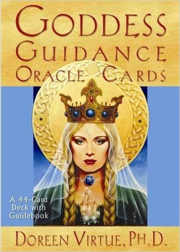 Goddess Guidance Oracle Cards (Stone) (Book) (DISCONTINUED)