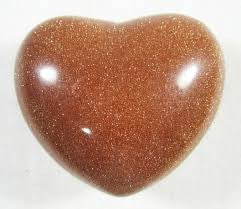 Stone: Goldstone Heart