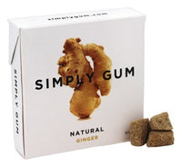 Gum: All Natural Ginger Gum