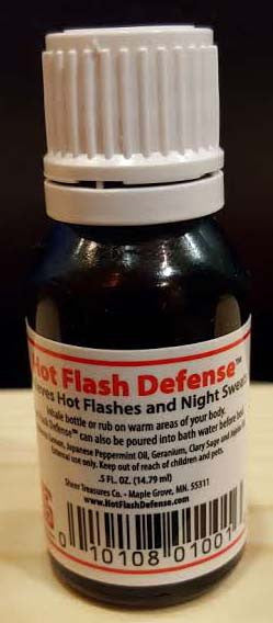 Hot Flash Defense™ Essential Oil Blend