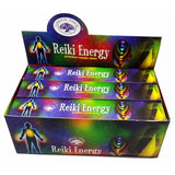 Incense: Reiki Energy Premium Masala Sticks (Chakra)