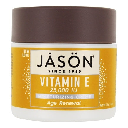 Vitamin E Cream  Jasons Natural Moisturizing Age Renewal