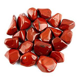 Stone: Jasper Red Tumbled - South Africa