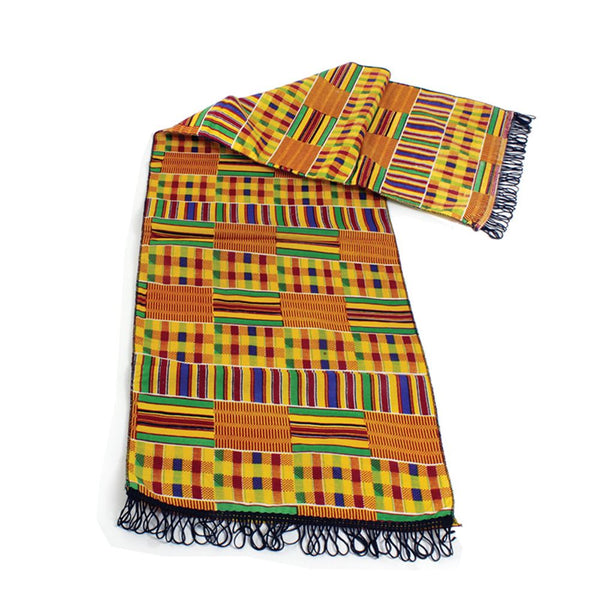 Kente Cloth Scarf (African Print)