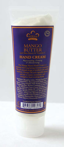 Mango Butter Hand Cream 4 oz.