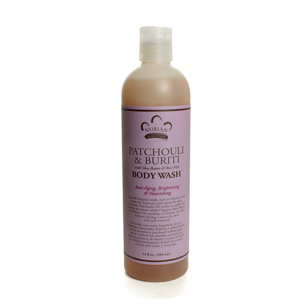 Patachouli and Buriti Oil Body Wash