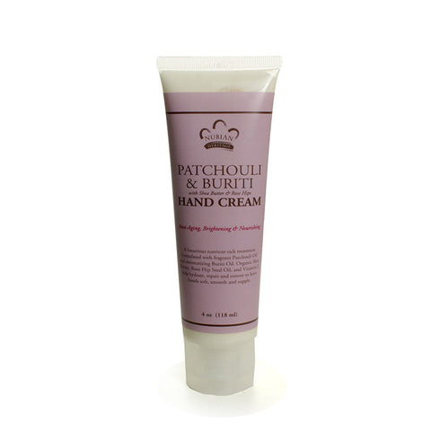 Patchouli and Buriti Oil Hand Cream 4 oz.