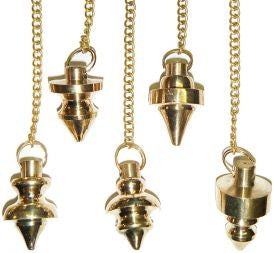 Pendulum: Metal with Brass Color
