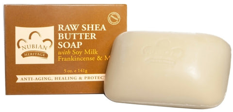Bar Soap: Raw Shea Butter with Frankincense: Special 4 Bars