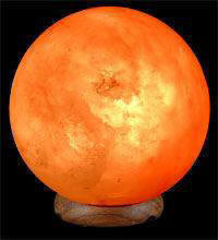 Lamp: Himalayan Rock Salt Lamp Sphere  OUT OF STOCK