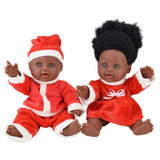 Black Baby Santa Doll (Set of 2 Dolls)