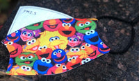 Face Mask Sesame Street for Children (Free Shipping)