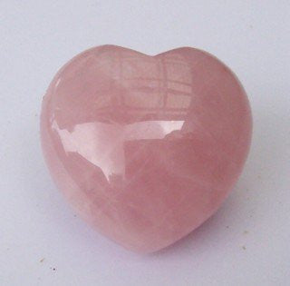 Stone: Rose Quartz Heart