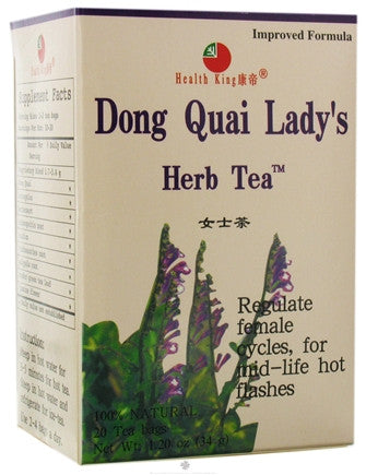 Tea: Dong Quai Lady's Herb (Sexuality)