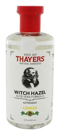 Witch Hazel, Thayers Lemon & Aloe Vera Formula