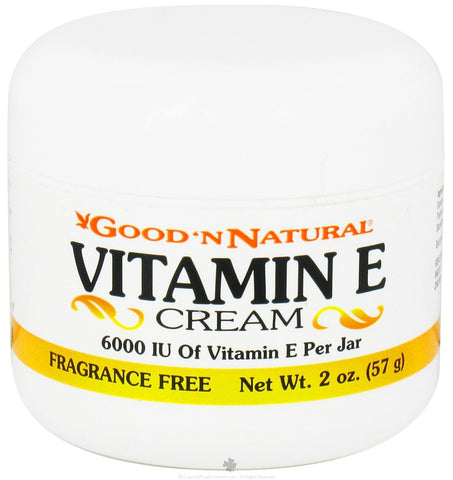 Vitamin E Cream Fragrance Free