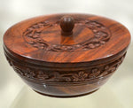 Wooden Box with lid (Bowl)