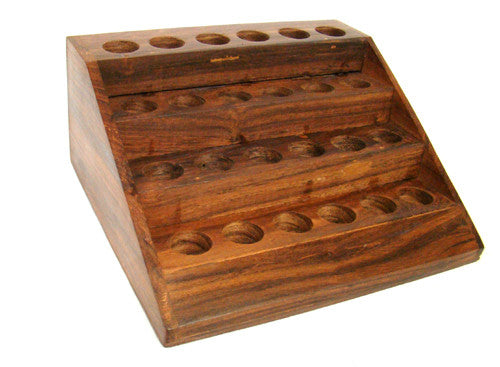 Wooden Display for Essential Oils  (Discountued item)