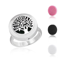 AromaBUG™ RING: Tree of Life, Essential Oil Locket Type