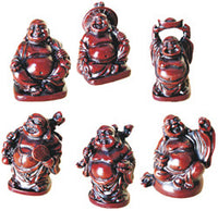 Miniature Buddha Figurine Set of 6