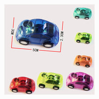 Pull Back Toy Car: Plastic (4 Pack)