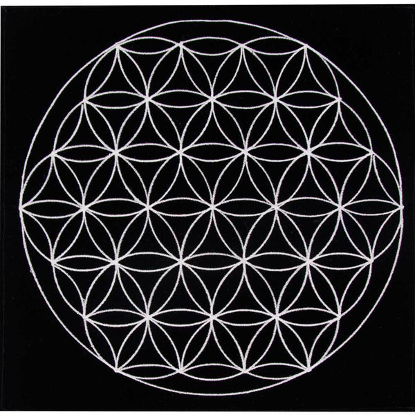 Charging Mat (stone) Flower of Life