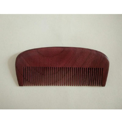 Comb: Wooden  (Beard and Mustache)