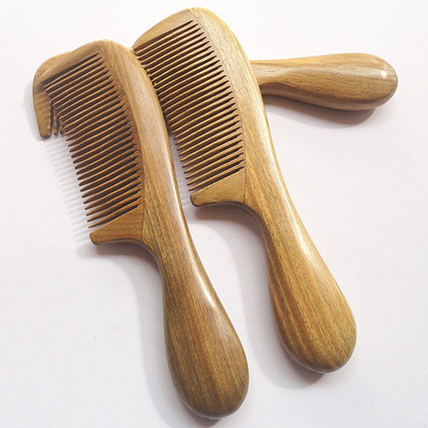 Comb: Wooden Natural Sandalwood