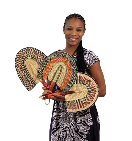 Fan: Hand Woven from Africa