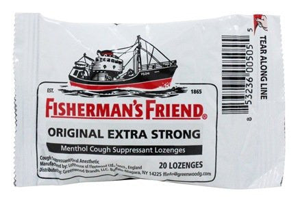Cold and Cough: Fishermans Friend Lozenges