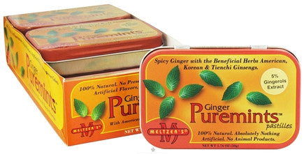 Ginger Mints - 100% Natural Ginger  candy
