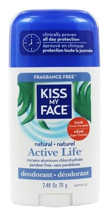 Kiss My Face Natural Active Life eodorant