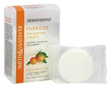 Shower Tablets: Energize 6 tablets