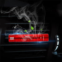 AromaBug™ Car Vent TUBE AIR FRESHENER with 8 Fragrance Cartridges
