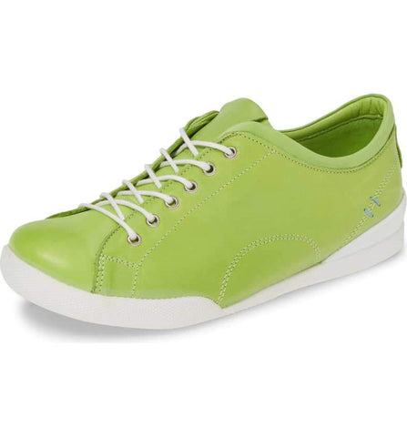 ABBEY Sneaker in Lime