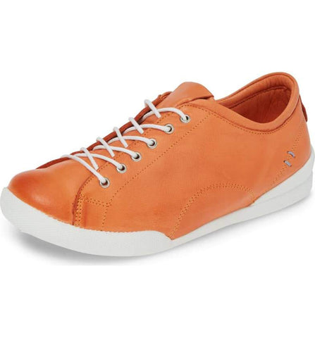 ABBEY Sneaker in Papaya
