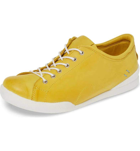 ABBEY Sneaker in Yellow