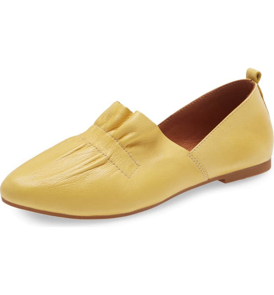 DARBY FLAT - YELLOW - Pre-order some sizes to ship mid-April